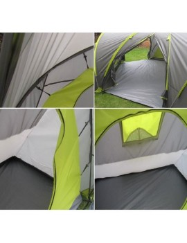 PROSPECTOR TENTE CAMPING CONFORT 6 PLACES A00583