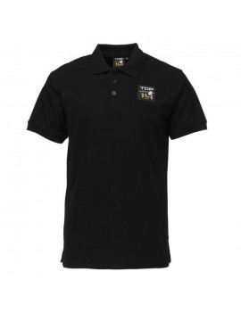 MAILLOT DE RUGBY ADULTE - POLO RUGBY TOP - NOIR 13110880101