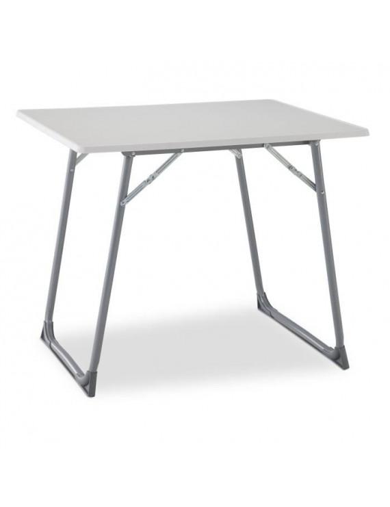 Eredu table pliante 706s 80 x 60 cm gris et blanc for Porte pliante 60 cm