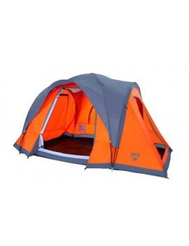 BESTWAY CAMP BASE TENTE + AVANT TOIT TAILLE 450 CM X 240 CM