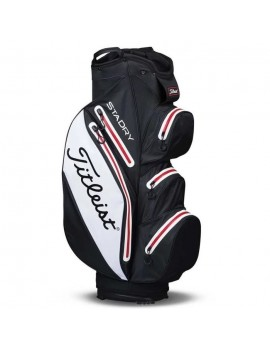 TITLEIST SAC DE GOLF STADRY CART - NOIR, BLANC ET ROUGE TB6CT7-016