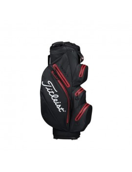 TITLEIST SAC DE GOLF STADRY CART - NOIR ET ROUGE TB6CT7E-00