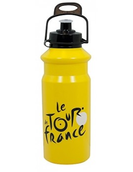 TOUR DE FRANCE BIDON NOIR/JAUNE 700 ML