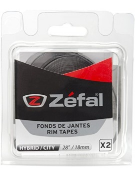 ZEFAL FOND DE JANTE EN PVC SOUPLE GRIS GRIS 28 INCH/18 MM
