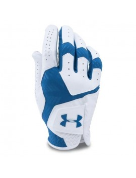 UNDER ARMOUR GANT MAIN GAUCHE COOLSWITCH HYBRID BLANC / SQUADRON HOMME, TAILLE: XL 1275449-103