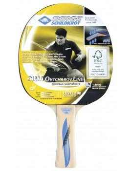 DONIC SHILDKROT RAQUETTE TENNIS DE TABLE BAT OVTCHAROV 500 FSC 714405