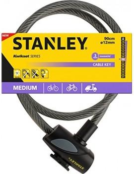 STANLEY CABLE ANTIVOL POUR VELO CABLE-KEY, 81311385111