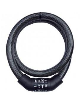 CABLE ANTIVOL SECURITY PLUS SPS 100 NOIR 12026801