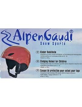 ALPENGAUDI CASQUE ENFANT-ROUGE IMPERIAL - 54-60 CM 10994412