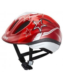 KED CASQUE MEGGY STARS - ROUGE, TAILLE: S 46-51 CM 17409122XS