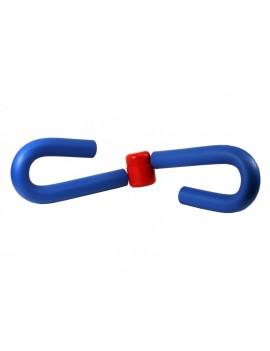 LEG MUSCLE FITNESS MACHINE BLUE/RED KEIN HERSTELLER