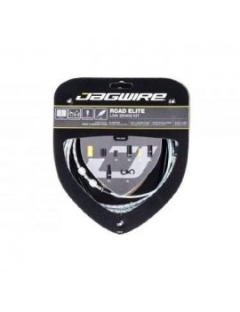 JAGWIRE KIT CABLE FREIN ROAD ELITE LINK BRAKE - CABLES, GAINES, BOITIERS, SEGMENTS - ? EXTERIEUR 5,0 MM - ARGENT RCK701