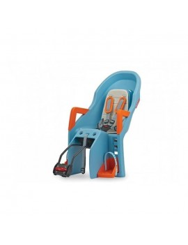 POLISPORT SIEGE BEBE GUPPY RS PORTE BEBE ARRIERE INCLINABLE SANGLES 5 POINTS FIXATION AU CADRE 8637700014