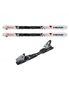 HEAD SKIS INSTINCT 83 + FIXATIONS PR10, TAILLE: 149 CM 31240702