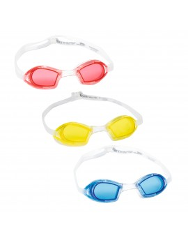 BESTWAY LUNETTES IX-550 JUNIOR - 3 COULEURS ASSORTIES 21064