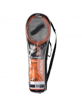 STIGA SET DE BADMINTON FAMILY FS - ROUGE ET NOIR 78-1072-14