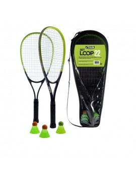 STIGA SET DE SPEED BADMINTON LOOP 22 - NOIR ET VERT 78-1090-02