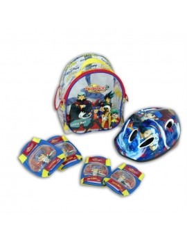 BEYBLADE PACK SET DE PROTECTIONS + CASQUE