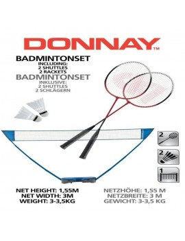 DONNAY KIT DE BADMINTON 871125291901