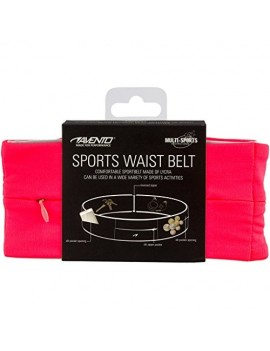AVENTO CEINTURE RUNNING AVENTO - ROSE, TAILLE: L 21PRRS