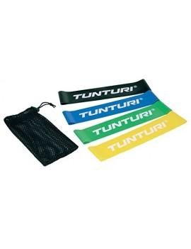 TUNTURI-FITNESS 14TUSYO016 TUNTURI MINI SET DE BANDE DE RESISTANCE