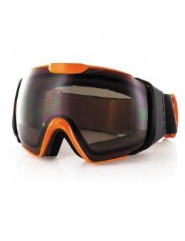 CARVE MASQUE SKI-SNOW LENS 6037 - ADULTE - ORANGE GRIS GTN007