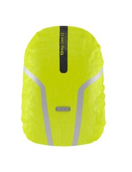 WOWOW BAG COVER 2.2 HOUSSE REFLECHISSANTE IMPERMEABLE FLUORO JAUNE