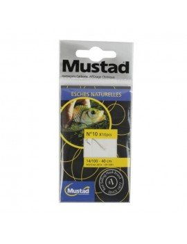 MUSTAD HAMECONS MONTES SPECIFIQUES ROYAL FISH RF ESCHES NATURELLES N 14 5593