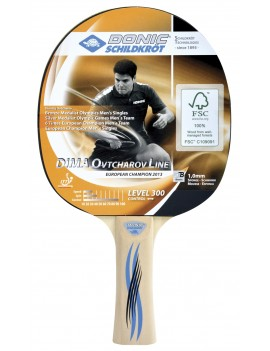DONIC SHILDKROT RAQUETTE TENNIS DE TABLE BAT OVTCHAROV 300 FSC 705232