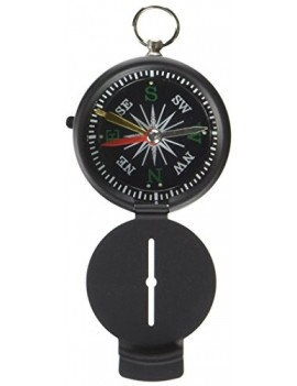 HIGHLANDER DELUXE POCKET COMPASS - BLACK