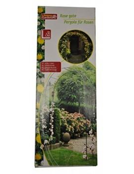 LIFETIME GARDEN PERGOLA ROSE ARCHE DE JARDIN PLANTES VERT 140 X 240 X 40 CM