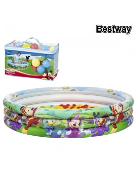 Piscine gonflable Mickey Mouse 91028